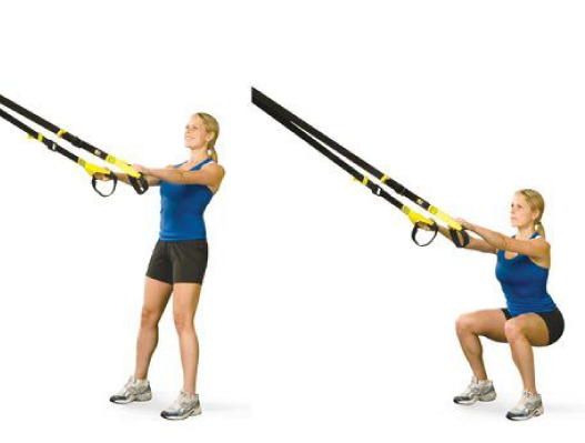 Increase your mobility with the TRX deep squat