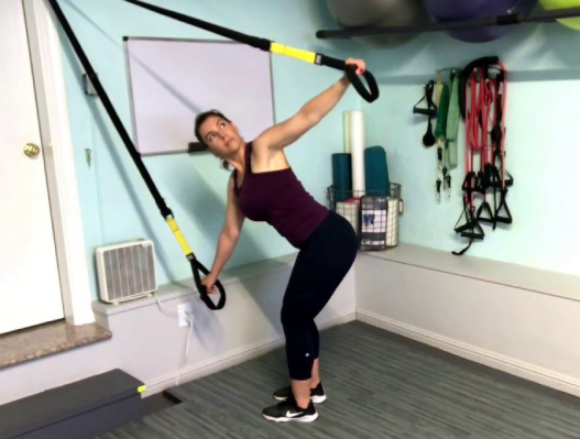 Increase your mobility with the TRX Golf swing exercise